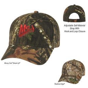 Realtree� And Mossy Oak� Hunter's Retreat Camouflage Cap