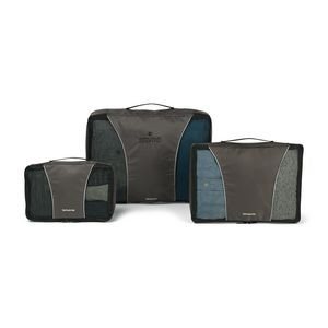 Charcoal Gray/Black Samsonite 3 Piece Packing Cube Set