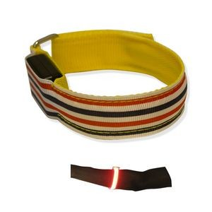 LED Polyester Fabric Armband (Priority)